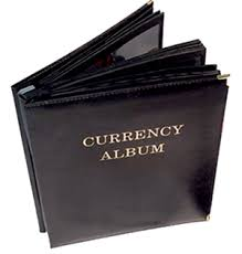 large photo album currency note albums