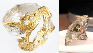 gold metal rings images Seven ways to incorporate gold into your jewelry the studio jpg