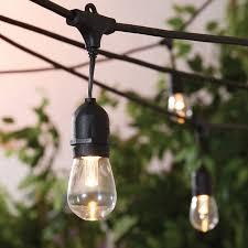 how to string cafe lights better homes and gardens outdoor led cafe string lights walmart com