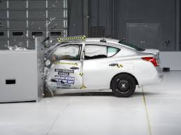 nissan maxima safety rating 2014 nissan versa sedan driver side small overlap iihs crash test