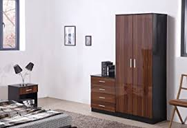 OSSOTTO HIGH GLOSS  Piece Bedroom Furniture Set Includes Soft - Bedroom furniture sets uk
