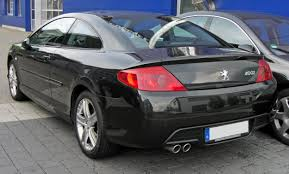 File Peugeot 407 Coupé 20090706 Rear Jpg Wikimedia Commons
