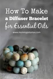 make bracelet with beads images How to make an essential oil diffuser bracelet jpg