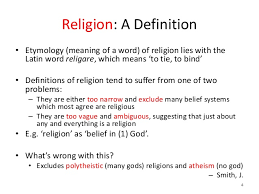 religion word meaning