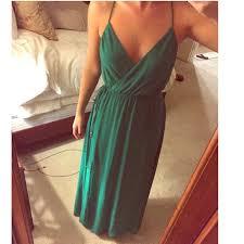 Kelly Green Maxi Dress 43 Off Bebe Dresses U0026 Skirts Bebe Kelly Green Maxi Dress Sheer