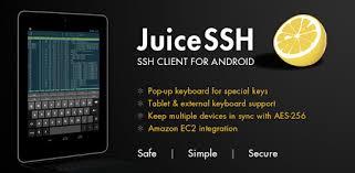 ssh yt preteen juicessh ssh client apps on google play