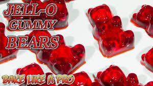 easy jello gummy bears recipe youtube