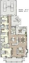 Open Floor Layout Home Plans Best 25 Narrow House Plans Ideas On Pinterest Small Open Floor