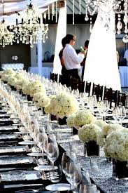 black and white wedding ideas 52 black and white wedding table settings weddingomania