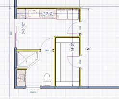 Bathroom Design Floor Plan by Cool Small Bathroom Floor Plans Shower Only