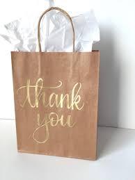 bridal party gift bags thank you gift bag birthday favor bag custom gift bag wedding