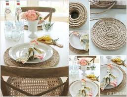 dining room placemats 10 wonderful diy placemat ideas for your dining table
