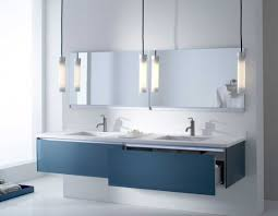 contemporary bathroom vanity lighting glass tube pendant lamp