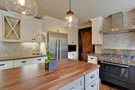 shaker painted cabinets kitchen design pictures gourmet kitchen in two tone painted linen and harbor gray
