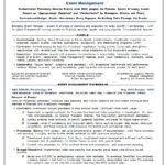 Sample Resume Event Coordinator Event Planning Resume Event Coordinator Assistant Resume