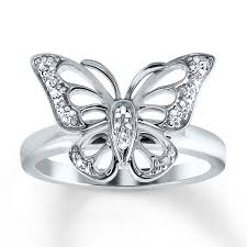 butterfly engagement rings engagement rings wedding rings diamonds charms jewelry from