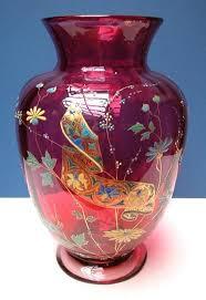 Antique Cranberry Glass Vase 287 Best Cranberry Glass Images On Pinterest Cranberry Glass