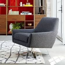 West Elm Lounge Chair Lucas Swivel Base Chair West Elm Client Ladd U0027s Addition
