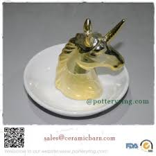 ceramic crystal ring holder images Porcelain swan ring holder jpg