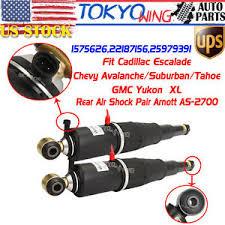 2004 cadillac escalade rear air shocks pair for cadillac escalade chevy tahoe gmc yukon rear air shock