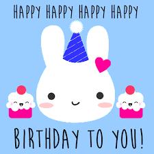rabbit birthday rabbit birthday card free happy birthday ecards greeting