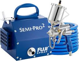 best hvlp for spraying cabinets fuji 2203g semi pro 2 gravity hvlp spray system blue