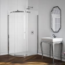 1400 Shower Door Merlyn 10 Series 1400 X 800 Frameless Offset Quadrant Shower