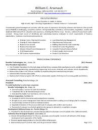 Senior Executive Manufacturing Engineering Download Coo Chief Operating Officer In Colorado Springs Co Resume