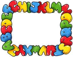alphabet border clipart free clipartsgram com