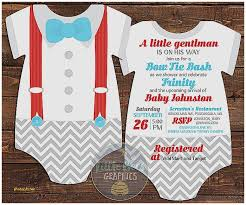 bow tie baby shower invitations baby shower invitation unique sock monkey baby shower invitation