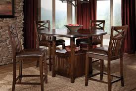 dining table set with storage counter height table with storage for kitchens kutskokitchen