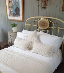 White And Cream Bedding Bed Linen Personalised Plain White Bamboo Duvet Cover Plain Cream