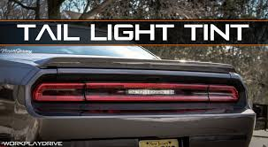Dodge Challenger Lights - luxe auto concepts 2008 2014 dodge challenger tail light tint