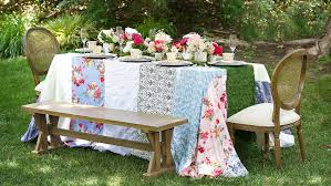 party table how to plan an garden party inspired bridal shower