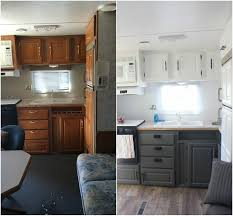 Pop Up Camper Interior Ideas by Camper Remodel Ideas 54 Camper Remodeling Gray And Rv