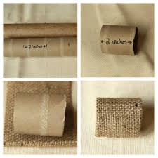 fall napkin rings idea easy diy country chic burlap buttons clay