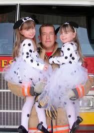 Dalmation Halloween Costume Creative Kids Firefighter Dalmatian Costumes Diy