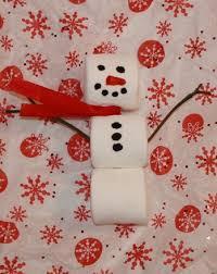 marshmallow snowman activity education