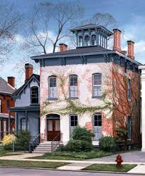italianate style house buffalo ny italianate style house with belvedere cupola