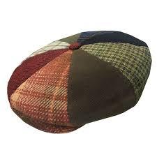 Patchwork Cap - delmonico 8 4 tweed patchwork cap by doria delmonico hatter