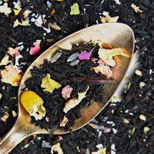 reading nook blend organic black cream loose leaf tea plum deluxe