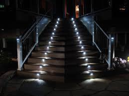 solar stair lights indoor illuminating interior exterior stairs lighting llc home art decor