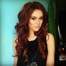 reddish brown hair color hair color trends 2017 2018 highlights long curly reddish