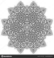 Mystic Ottoman Vector Mandala Vintage Decorative Elements Pattern