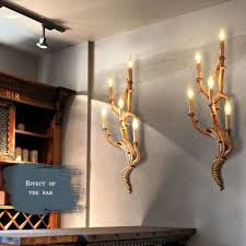 Aliexpresscom  Buy Top Grade Vintage Wall Light Tree Branch - Wall sconces for dining room