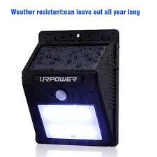 driveway motion sensor light amazon com solar light urpower 8 led outdoor solar powerd wireless