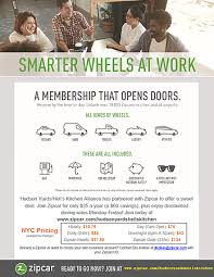 for bid zipcar discount for bid businesses hudson yards hell s