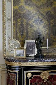 Interior Of The Living Room In The Empire Style With A Unique - Empire style interior design