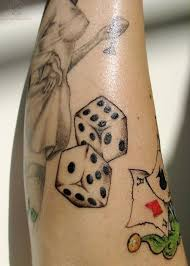 52 best rj dice tattoo images on pinterest tattoo images black
