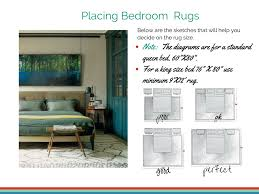 Bedroom Area Rug Guide How To Place An Area Rug In A Room My Decorating Tips